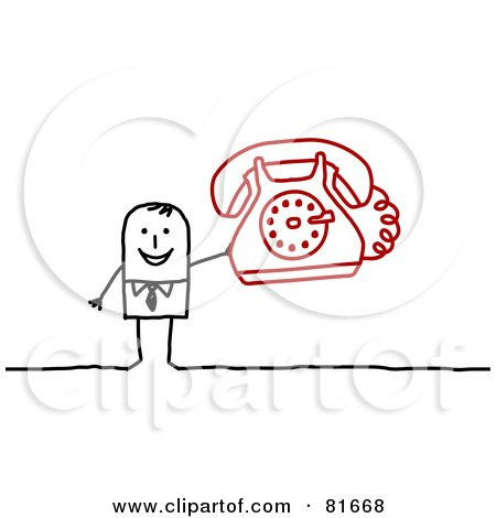 Distant Person Clipart