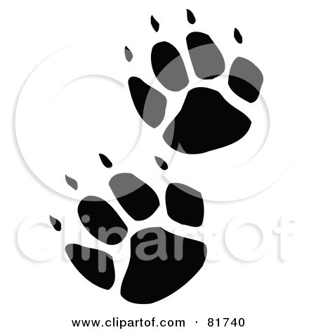 Royalty Free Rf Clipart Illustration Of A Wolf Wearing A Top Hat
