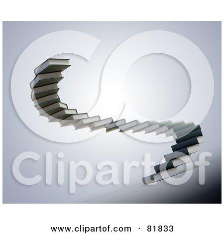 Spiral Book Spiral Staircase of Gray Book