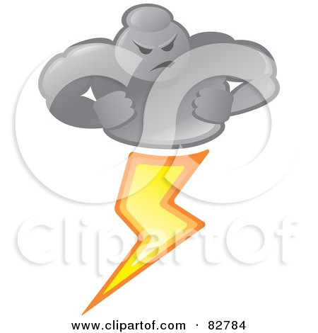 Royalty-Free (RF) Lightning Clipart, Illustrations, Vector Graphics #1