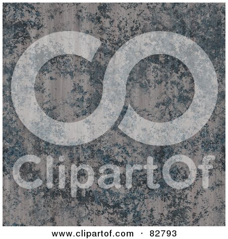 Royalty-Free (RF) Clipart Illustration of a Seamless Background Of A Grungy Metal Stone Texture by Arena Creative