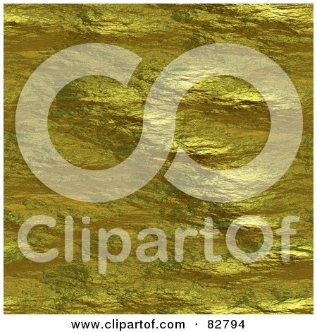 Royalty-Free (RF) Clipart Illustration of a Seamless Background Of Golden Nugget Texture by Arena Creative