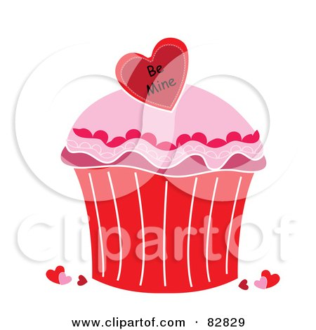 Valentine Cupcakes on Cartoon Cupcake On Cupcakes Cartoon Heart Icing Hawaii Dermatology