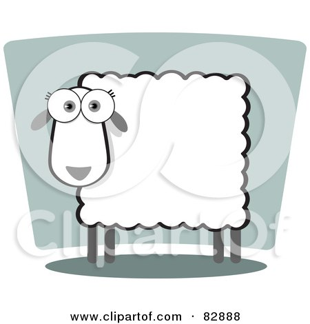 of a female sheep with a