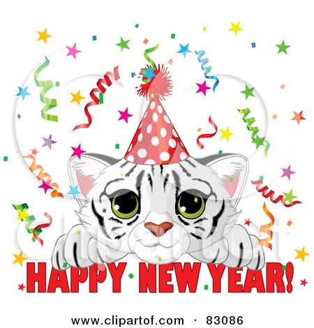http://images.clipartof.com/small/83086-Royalty-Free-RF-Clipart-Illustration-Of-A-Cute-White-Tiger-Cub-Wearing-A-Party-Hat-And-Looking-Over-A-Happy-New-Year-Greeting-With-Confetti.jpg