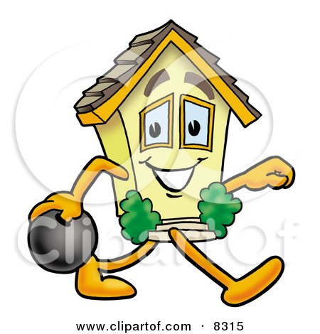Cartoon Real Estate Agent Giving His Client House Keys ...