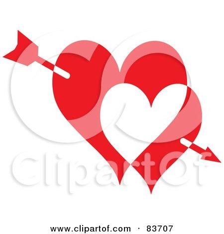 Royalty-Free (RF) Arrow Through Heart Clipart ...