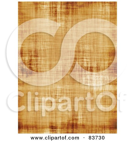 Royalty-Free (RF) Clipart Illustration of a Background Of Vertical Aged And Seamless Parchment Paper by Arena Creative
