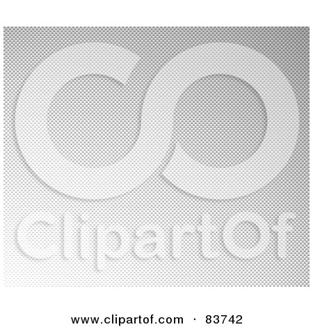 Royalty-Free (RF) Clipart Illustration of a Light Gray Carbon Fiber Background by Arena Creative
