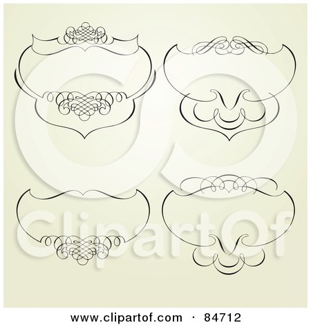 Royalty-Free (RF) Clipart Illustration of a Digital ...