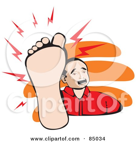 85034-Royalty-Free-RF-Clipart-Illustration-Of-A-Mexican-Man-Holding-Up-His-Painful-Foot CARBO VEGETABILIS :