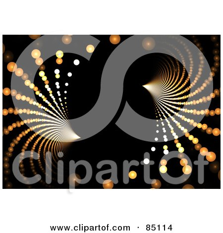 Royalty-Free (RF) Clipart Illustration of an Abstract Fractal Design Background - Version 37 by Arena Creative