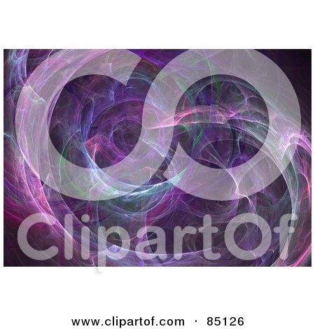 Royalty-Free (RF) Clipart Illustration of an Abstract Fractal Design Background - Version 25 by Arena Creative