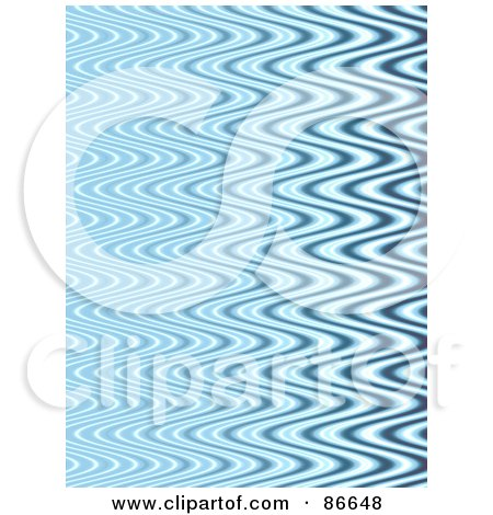 Royalty-Free (RF) Clipart Illustration of a Background Of Tight Blue Ripples by Arena Creative