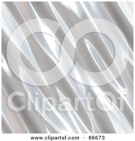 Royalty-Free (RF) Clipart Illustration of a Metal Ripple Background by Arena Creative