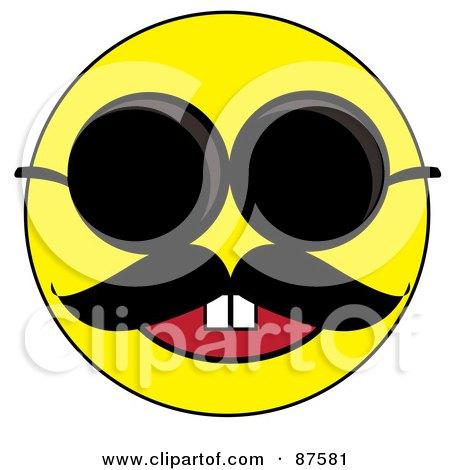 Happy Yellow Emoticon ...