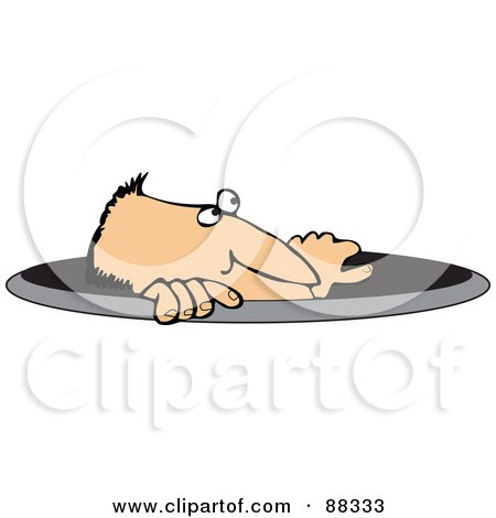 88333-Royalty-Free-RF-Clipart-Illustration-Of-A-Caucasian-Man-Emerging-From-A-Manhole.jpg