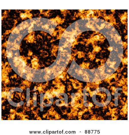 Royalty-Free (RF) Clipart Illustration of a Fiery Explosion Background by Arena Creative