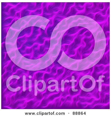 Royalty-Free (RF) Clipart Illustration of a Purple Fur Background by Arena Creative