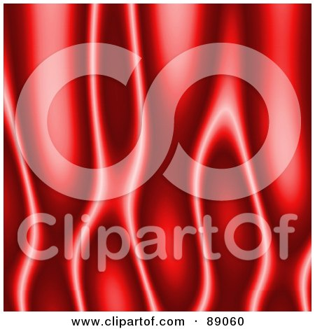 Royalty-Free (RF) Clipart Illustration of a Hot Red Flame Background by Arena Creative