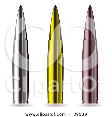 Royalty-Free (RF) Bullet Clipart, Illustrations, Vector Graphics #1