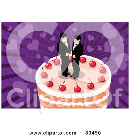 Royalty-Free (RF) Gay Wedding Clipart & Illustrations #1