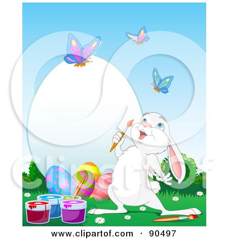 Royalty-Free (RF) Clipart of Painting Easter Eggs, Illustrations ...