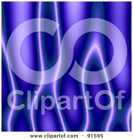 Royalty-Free (RF) Clipart Illustration of a Blue Or Purple Flame Texture Background by Arena Creative