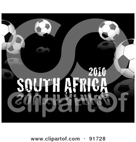 Royalty-free (RF) Clip Art Of A Blue And White Soccer Ball ...