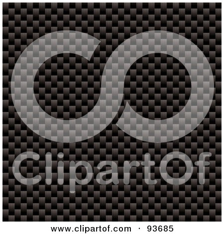 Royalty-Free (RF) Clipart Illustration of a Woven Carbon Fiber Texture by michaeltravers