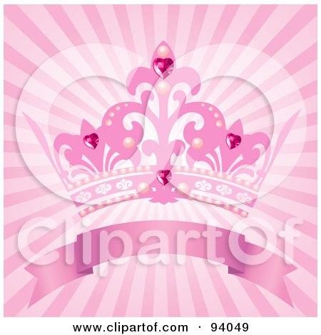 Royalty-Free (RF) Clipart Illustration of a Girly to the Max Element