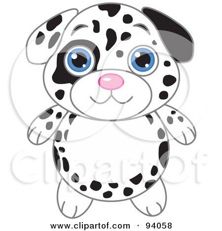 Cartoon Dalmatian Dog | New Calendar Template Site