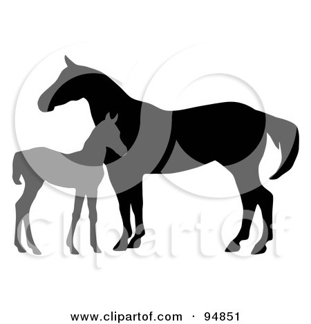 Royalty free animal illustrations by c charley franzwa page 1 for Clipart mare