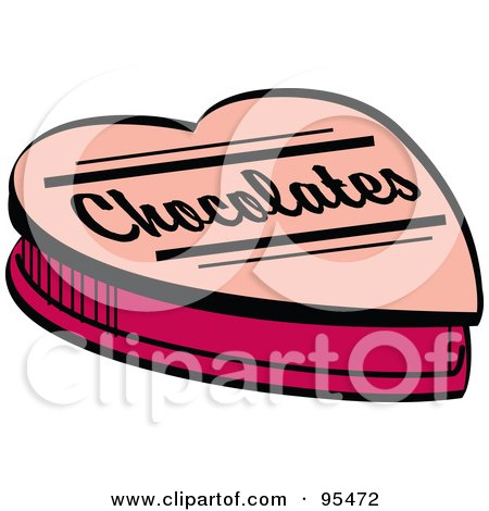 Royalty-Free (RF) Clipart Illustration of a Pink Valentine Heart ...