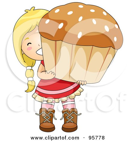 Royalty-Free (RF) Muffin Clipart, Illustrations, Vector Graphics #1