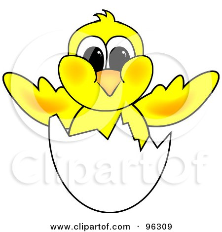 RoyaltyFree Vector Clip Art Illustration of a Coloring Page Outline Of A Bird And Blossoms by