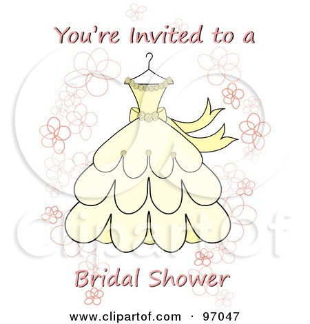 Royalty-Free (RF) Bridal Shower Clipart, Illustrations, Vector ...