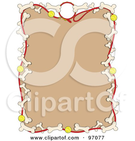 Free Love Picture Frames on Royalty Free  Rf  Clipart Illustration Of A Border Of Dog Leashes