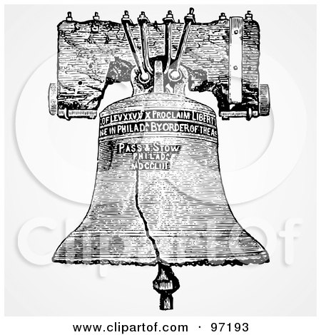 Royalty-Free (RF) Liberty Bell Clipart, Illustrations, Vector ...