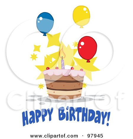 happy birthday balloons animated. happy birthday clip art