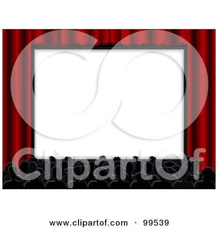 royalty free rf movie theater clipart illustrations vector rh clipartof com outdoor movie screen clipart