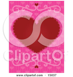 Pink heart backgrounds 13