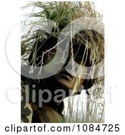 Soldier In Full Camouflage Free Stock Photography