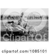 Soldier Transporting An Injured Patient On A Cycle Ambulance Free Stock Photography