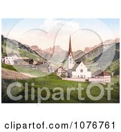 St Christina Tyrol Austria Royalty Free Stock Photography