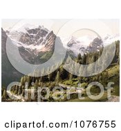 Stilfer Joch With Ortler And Ortlerferner Ortler Territory Tyrol Austria Royalty Free Stock Photography