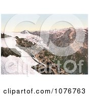 StilferjochStilfer Joch Road From Payerhutte Tyrol Austria Royalty Free Stock Photography