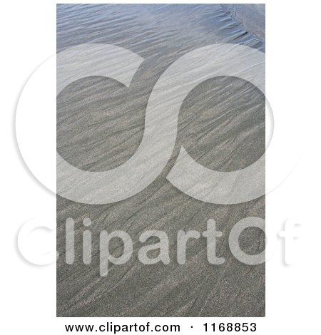 Stock Photo of Patterns in the Sand at Gold Beach Oregon - Royalty Free Nature Photography by Jamers