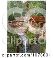 Stream In Shanklin Chine Isle Of Wight England Royalty Free Stock Photography by JVPD