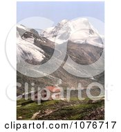 Stubaital Dresdenerhut And Schaufelspitze Tyrol Austria Royalty Free Stock Photography by JVPD